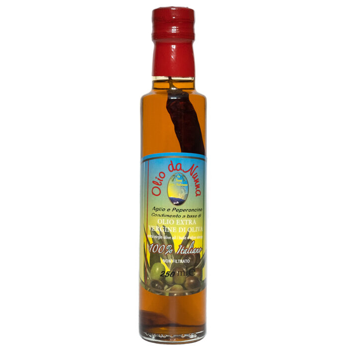 Calabrian Chilli Flavored Extra Virgin Olive Oil Sapori Antichi