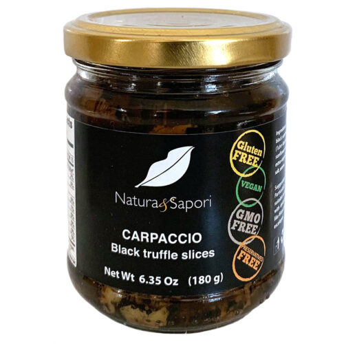 Carpaccio – Black Truffle Slices, Natura & Sapori