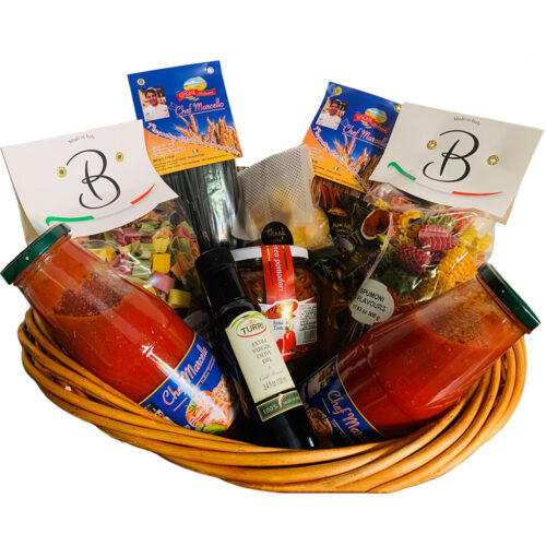 I Love You a Lot Valentine Basket - Chef Marcello Russodivito
