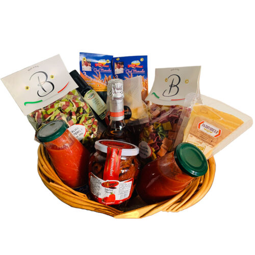 I Love You to the Moon, Valentine Basket - Chef Marcello Russodivito