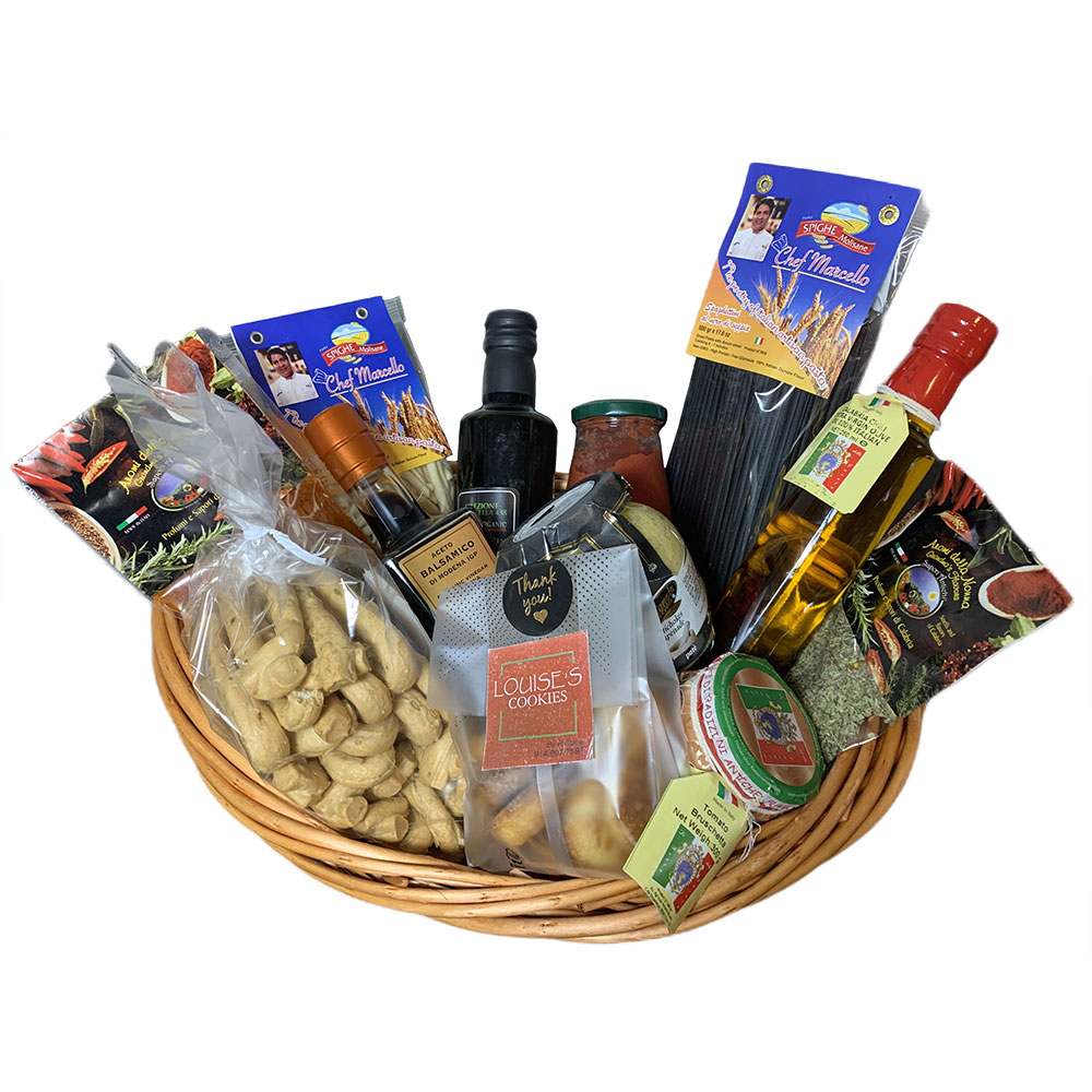 Large Gift Basket - Chef Marcello Russodivito
